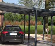 pitched roof carport