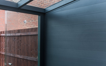 Aluminium Wall with Sliding Doors