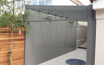 Polycarbonate Side Wallss
