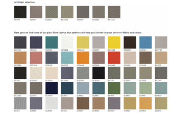 fabric colours options
