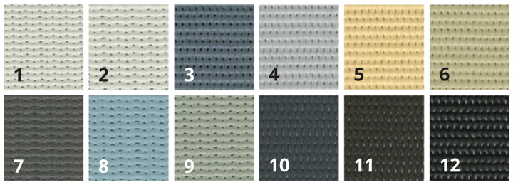 Fabric Colour Options