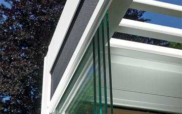 side glass sliding doors