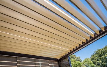 rotating aluminium roof blades