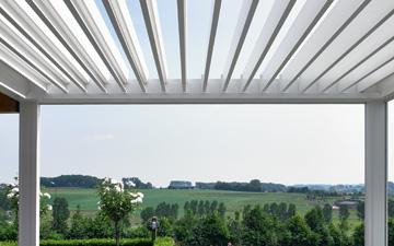 aluminium louvered roof blades