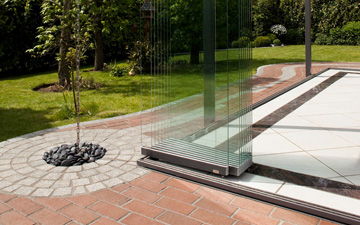 sliding and tilt glass wall