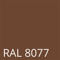 RAL 8077