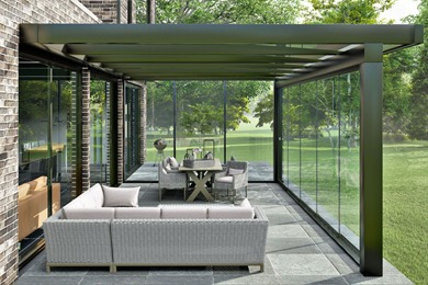 Ultra Veranda with Glass Sliding Doors
