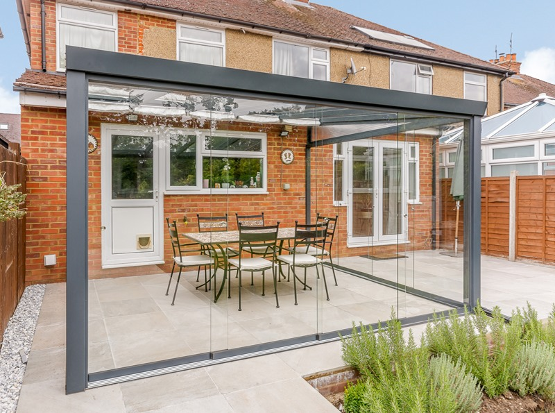 Anthracite Grey Panorama+ Garden Room