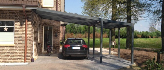 Pitched Roof Carport Type