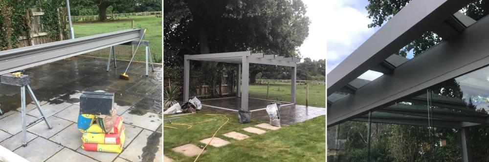Building a veranda