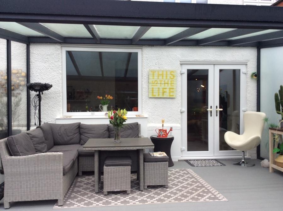 Garden room in Middlesex