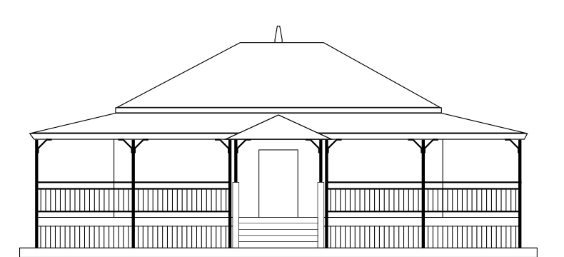 Queenslander veranda